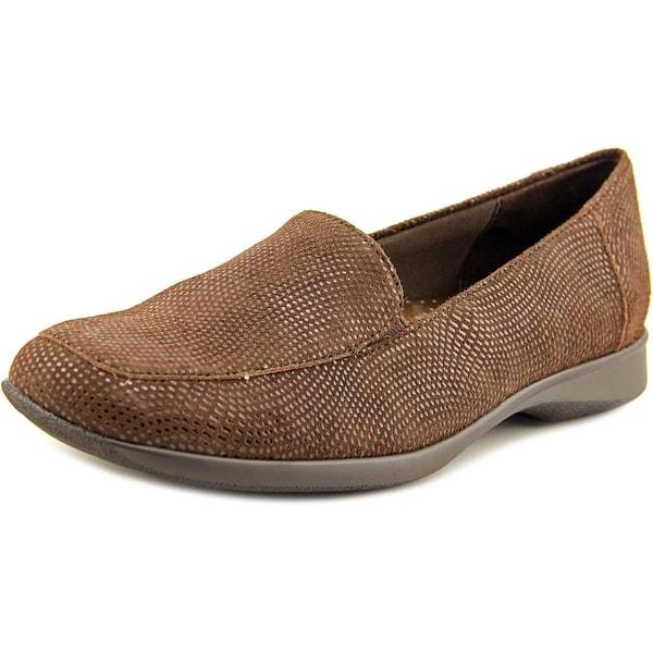 Trotters Jenn W Apron Toe Leather Loafer