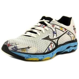 Mizuno Wave Inspire 10 Women D Round Toe Canvas White Running Shoe