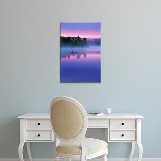 Easy Art Prints Jaynes Gallery's 'Canoeing' Premium Canvas Art