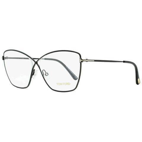 Tom Ford TF5518 001 Womens Black 57 mm Eyeglasses