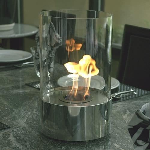 Accenda Tabletop Bio Ethanol Fireplace