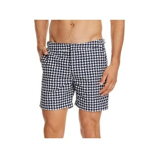 Orlebar Brown Mens Printed Buckle Detail Board Shorts - 30
