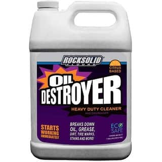 Rust-Oleum 60631 Oil Destroyer Heavy Duty Cleaner and Degreaser, 1 Gallon https://ak1.ostkcdn.com/images/products/is/images/direct/90010e20ea0e7ee00ee57b62cd96d28fb1707fc4/Rust-Oleum-60631-Oil-Destroyer-Heavy-Duty-Cleaner-and-Degreaser%2C-1-Gallon.jpg?impolicy=medium