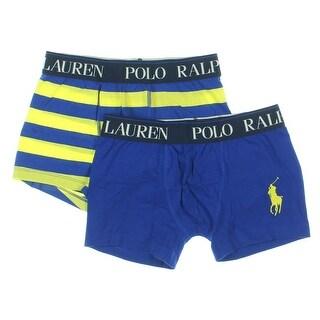 Polo Ralph Lauren Mens 2PK Striped Boxer Briefs - M