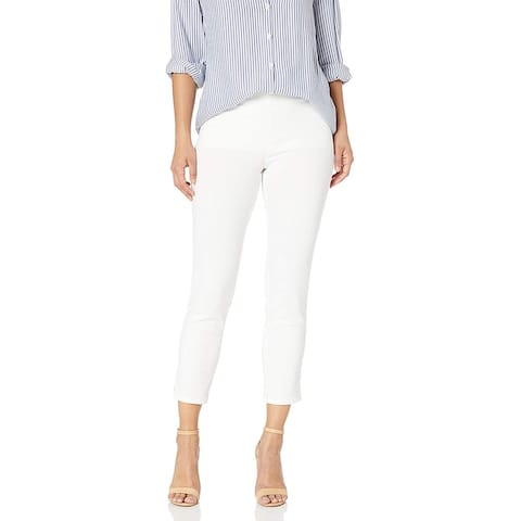 Nydj Women's Petite Ankle Jeans, Endless White,16