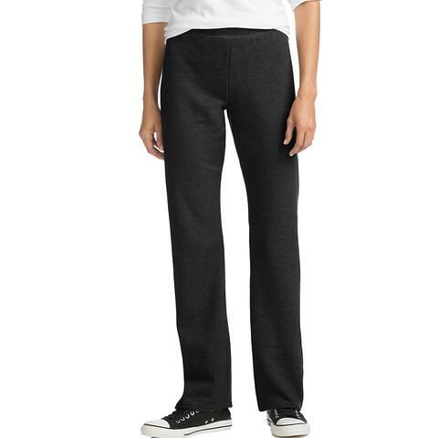 Hanes ComfortSoft ; EcoSmart® Women's Petite Open Leg Sweatpants