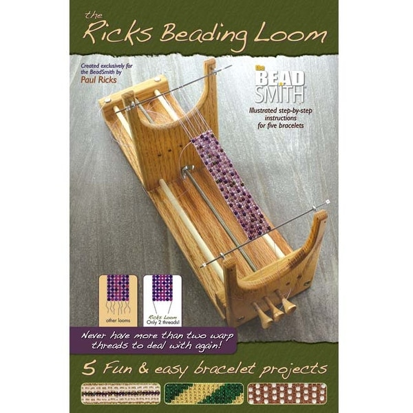 BeadSmith - Ricks Beading Loom Booklet - Includes Instructions For 5 Bracelets