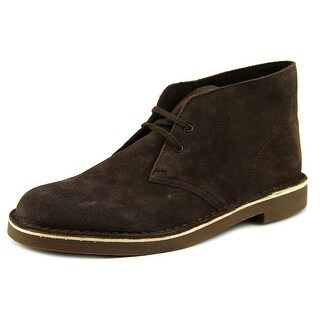 Clarks Bushacre 2 Men  Round Toe Suede Brown Chukka Boot