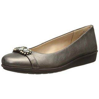 Easy Spirit Womens Jolana Pumps Leather Slip On