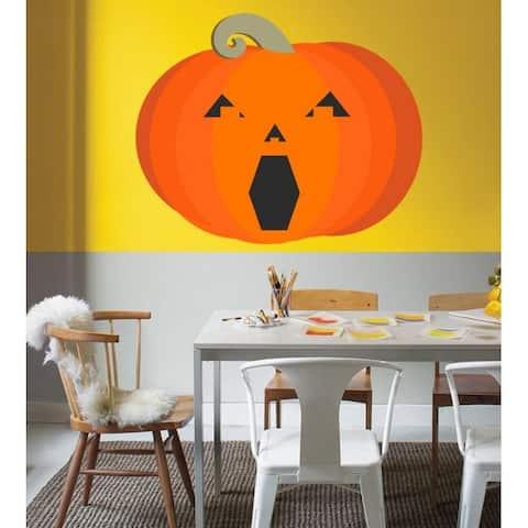 Halloween Wall Decal, Pumpkin Decal, Pumpkin wall Sticker, Halloween Decoration