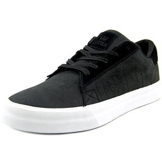 Supra Belmont Round Toe Leather Sneakers