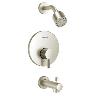 American Standard TU064.502  Serin Tub and Shower Trim Package with 2.5 GPM Multi Function Shower Head