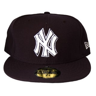 MLB New York Yankees New Era 59Fifty Black Fitted Hat Cap