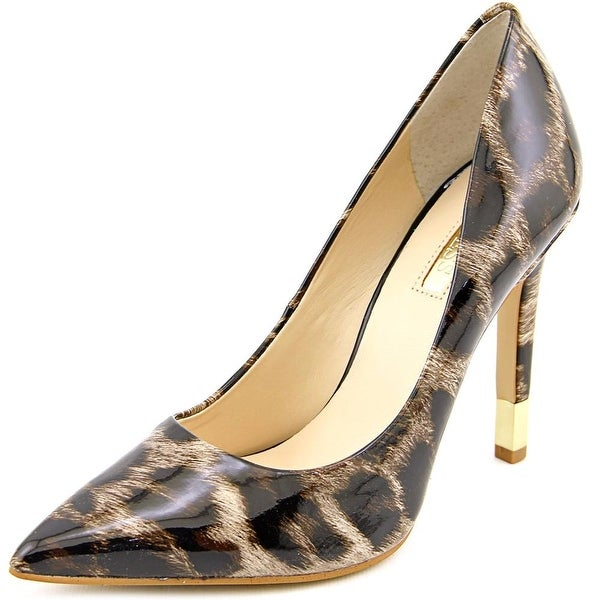 Guess Babbitta 2 Women Pointed Toe Synthetic Brown Heels