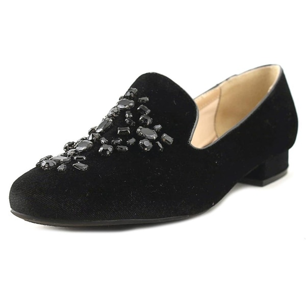 Unisa Libli Women Round Toe Canvas Black Loafer