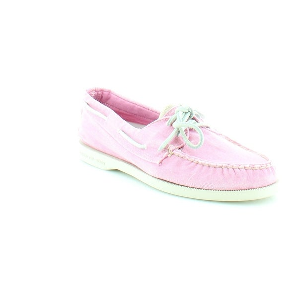 Sperry Top-Sider A/O 2-Eye Women's Flats & Oxfords Washed Pink