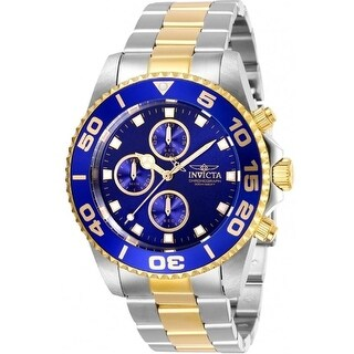 Link to Invicta Men's 28692 'Pro Diver' Invicta Connection Gold-Tone and Silver Stainless Steel Watch - Multi Similar Items in Men's Watches