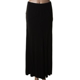 Studio M Womens Jersey Seamed Maxi Skirt - XS