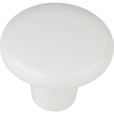 Elements HR893 Tempo 1-3/8 Inch Diameter Mushroom Cabinet Knob