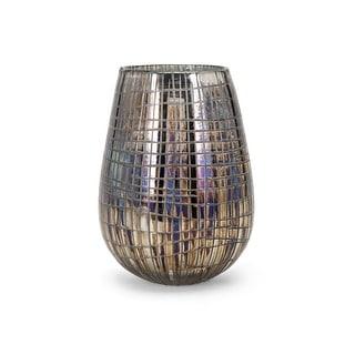 IMAX Home 13854  Reaka Small Glass Vase - Multi-Colored