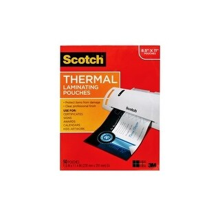 3M Mobile Interactive Solution Tp3854-20 Thermal Laminating Pouches 20 Pouches