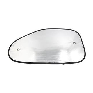 2 Pcs Reflective Side Rear Window Sun Shade Shield Visor UV Block Cover for Car
