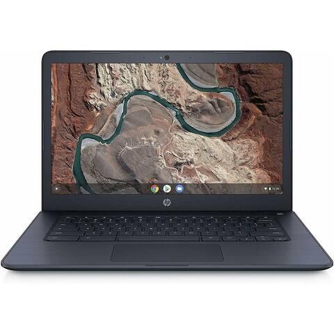 HP Chromebook 14-db0043wm AMD A4-9120C 4 GB SDRM 32GB eMMC HD Display Ink Blue Refurbished