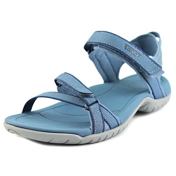 Teva Verra Women Open-Toe Synthetic Blue Sport Sandal