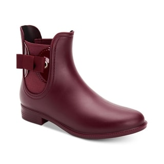 Link to Charter Club Womens Meradeth Closed Toe Ankle Rainboots Similar Items in Women's Shoes