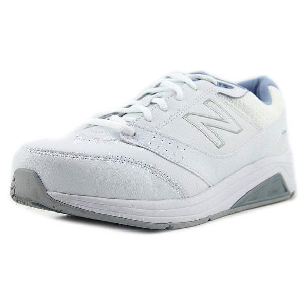 c5485a3a Shop New Balance WW928 Women 4E Round Toe Leather White Sneakers ...