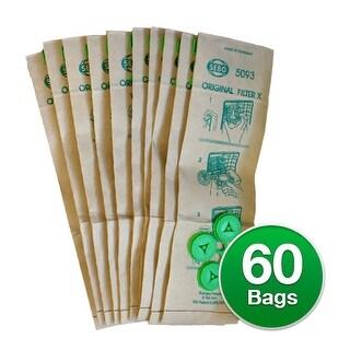 Sebo X/C/370 Filter box Genuine Vacuum Bags - 6 Pack