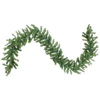 "9' X 10"" Pre-Lit Battery Operated Christmas Garland - Multi LED Lights"
