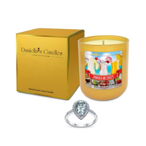 Daniella's Candles Jamaica Me Crazy Jewelry Candle - Earrings