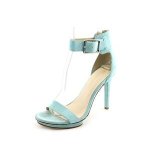 Calvin Klein Vivian Open Toe Suede Sandals