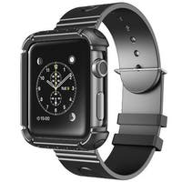 i-Blason Apple Watch (38mm) Rugged Protective Case with Band - Black