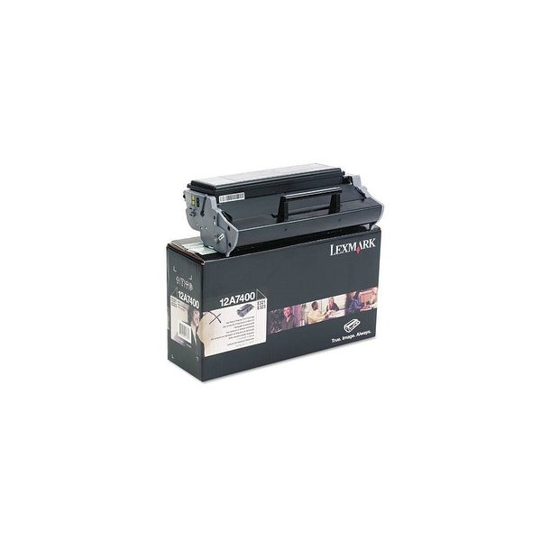 Lexmark Return Program Toner Cartridge - Black Toner Cartridge