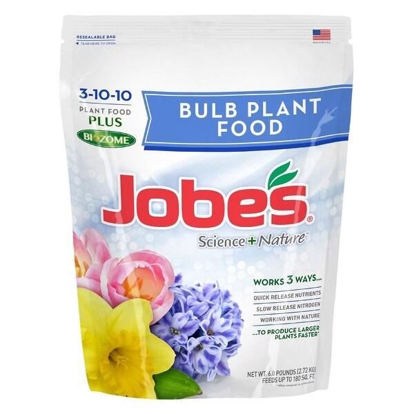 Jobes 59666 Easy Gardener Bulb Food, 13 10 10, 6 Lb