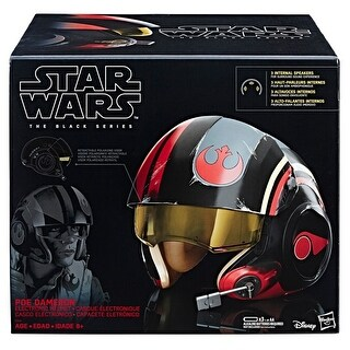 Hasbro HSBC1441 Star Wars Episode8 Black Series Helmet
