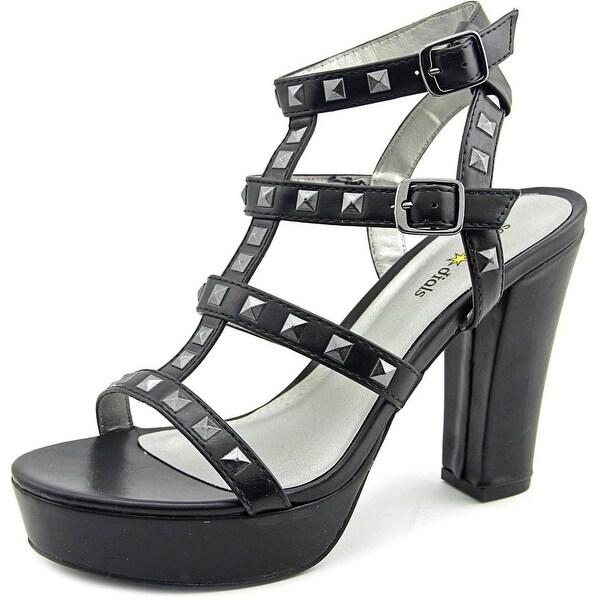 Seven Dials New Age Women Open Toe Synthetic Black Platform Sandal