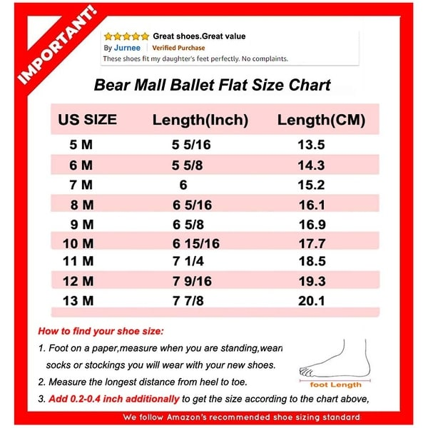 Felix \u0026 Flora Bear Mall Girls' Shoes