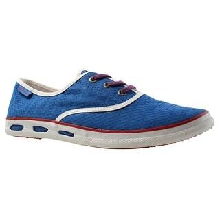 Columbia Womens Vulc N Venttm Lace Canvas Ii Blue Low Top Shoes Size 11