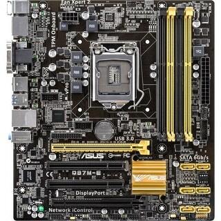Refurbished Asus Q87M-E/CSM/SI-R Asus Q87M-E/CSM Desktop Motherboard - Intel Q87 Express Chipset - Socket H3 LGA-1150 - Bulk