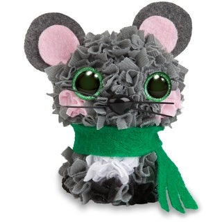 Plush Craft Fabric Fun Mini Kit-Mouse