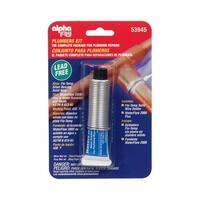 Alpha 53945 Lead-Free Plumbers Solder Kit, 0.75 Oz