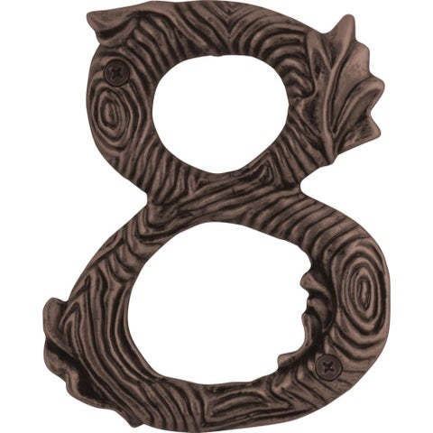 Atlas Homewares TN8L Twig Collection House Address Number 8 - N/A