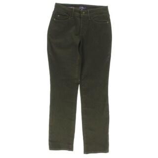 NYDJ Womens Petites Sheri Colored Skinny Jeans Colored Slim