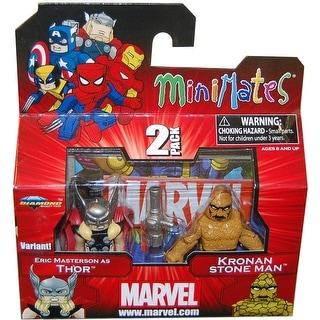 Marvel Minimates Series 42 Eric Masterson As Thor & Stone Man