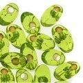Miyuki Long Magatama Seed Beads 4x7mm - Silver Lined Chartreuse (8.5 Grams) - Thumbnail 0