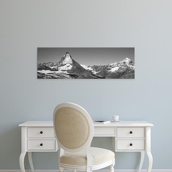 Easy Art Prints Panoramic Images's 'Matterhorn Switzerland' Premium Canvas Art