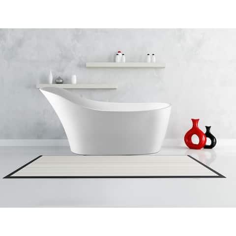 Modern Freestanding Bathtub BT-28 67-Inch (Acrylic)